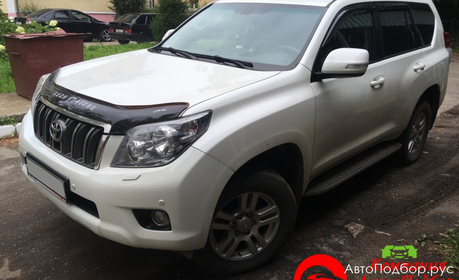 проверка Toyota Land Cruiser Prado 2010