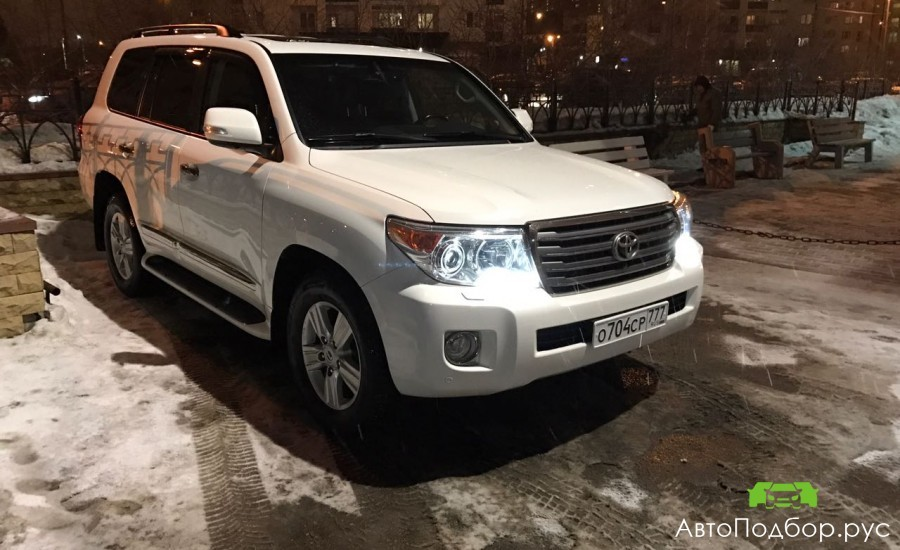 Подбор Toyota Land Cruiser 200