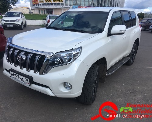 проверка Toyota Land Cruiser Prado