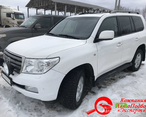 осмотр Toyota Land Cruiser 200